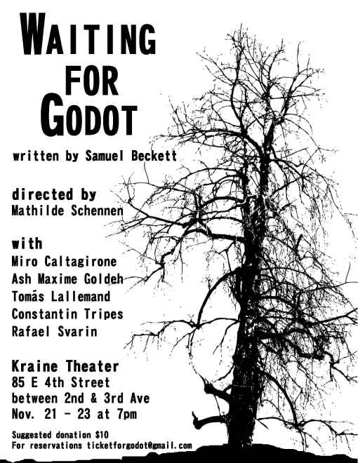 an analysis of the writing techniques in samuel becketts waiting for godot